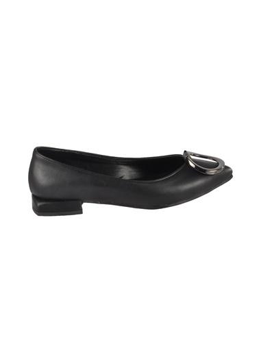 Mhd 121 Siyah Kadın Günlük Ayakkabı Siyah